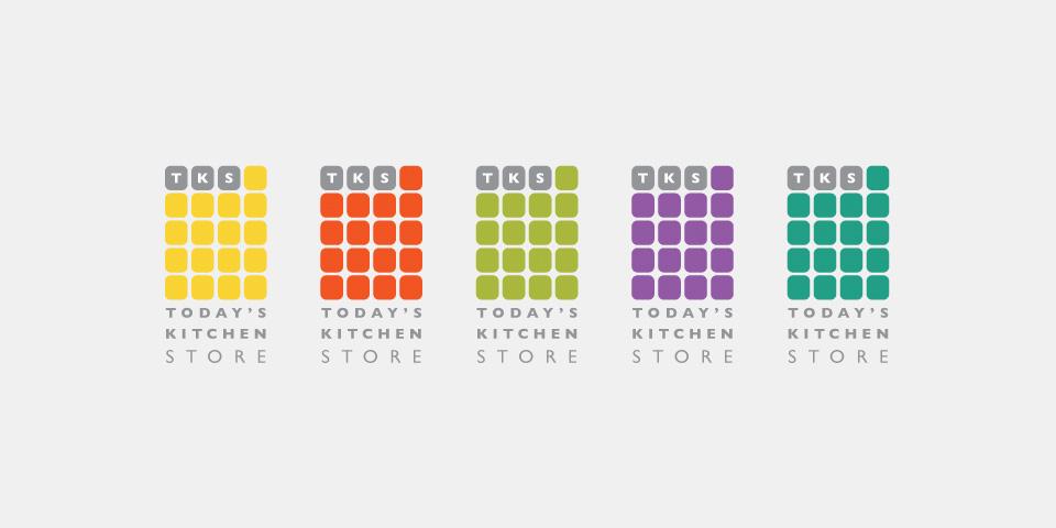 Kitchen Store Logo web design showcase - today's kitchen store | studio1337